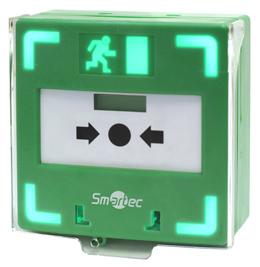 Новая кнопка марки Smartec для разблокировки замка двери в составе системы СКУД